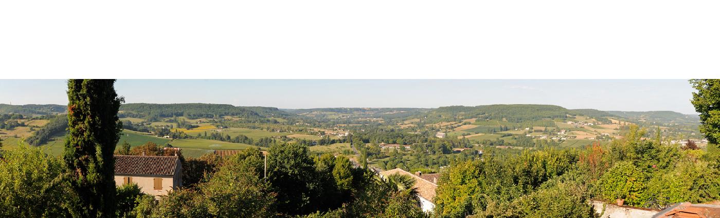 Vue de l'horizon du Préau